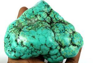 Discount Sale Blue Turquoise 297.55 Carat Natural Polished Gemstone Rough Arizona Mine Kingman