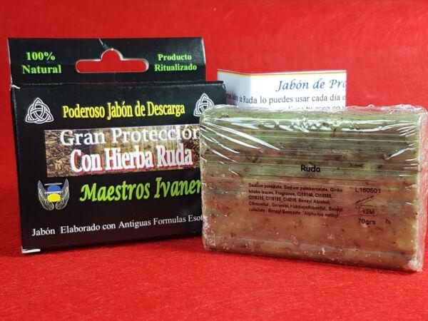 """""""hierbas Ruda"""" Jabon Esoterico De Proposito 70gr / """"rue Herbs"""" Esoteric Soap Fuerte Resistencia Al Calor Y Al Desgaste."""