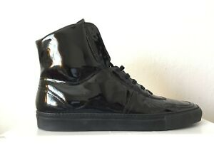 Common Projects Black Patent Leather