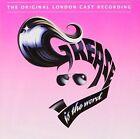 Various Grease Original London Cast Recording CD Soundtrack 1993