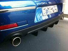 Diffuser, rear lower bumper spoiler - VW Passat R36 sedan and wagon 2008-2011