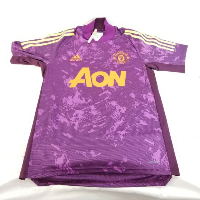 adidas Manchester United Soccer Ultimate Training Jersey L FR3702 ...