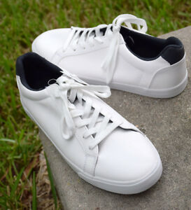50eaf1559d0a NEW Goodfellow   Co Men s Jared Lo Pro Tennis Shoes White Sneakers ...