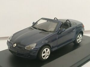 1-43-MERCEDES-BENZ-SLK-350-2005-COCHE-DE-METAL-A-ESCALA-SCALE-CAR-DIECAST