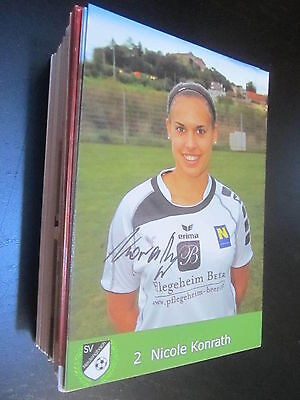 Kremener SV Neulengbach Damen Frauen original signierte Autogrammkarte 55966 S