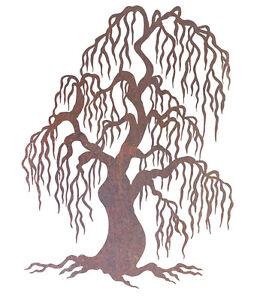 Willow-Metal-Garden-Wall-Art-Australian-Made