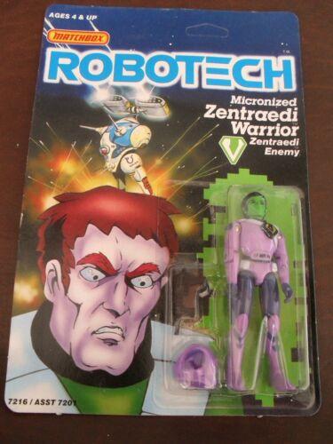 NEW Armoured Zentraedi Warrior Action Figure Robotech Matchbox 1985 1980s MOC