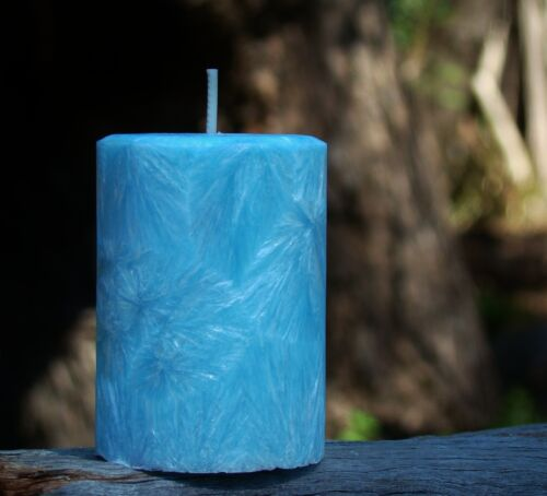 200hr LIME EUCALYPTUS /& PEPPERMINT Triple Scented Candle MOZZIE INSECT REPELLENT