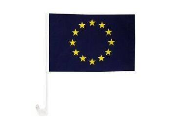 30 x 40 cm Autofahne Autoflagge Europ/äische Union EU