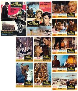 WEEK-END A ZUYDCOOTE FOTOBUSTE 9+2 SOGG SPAAK 1964 WEEKEND AT DUNKIRK LOBBY CARD
