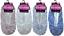 Ladies Slippers Sherpa Fleece Lined Rose Design Gripper Sole Adults Womens 4-7
