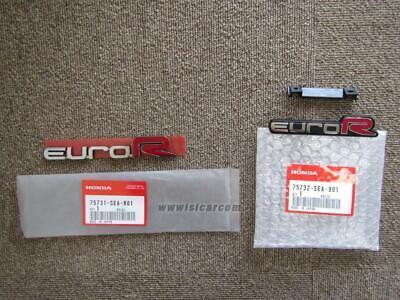 HONDA ACCORD EURO R CL7 EMBLEM FRONT COMP EUROR 75732-SEA-901 GENUINE DIRECT JDM