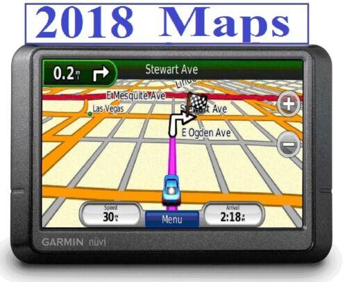 1 of 1 - Garmin  nuvi 255W (260W) GPS with 2018 World maps option choice to install