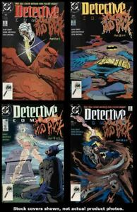 Comics-Detective-604-605-606-607-Conjunto-Completo-Ejecutar-Lote-604-607-MB-NM