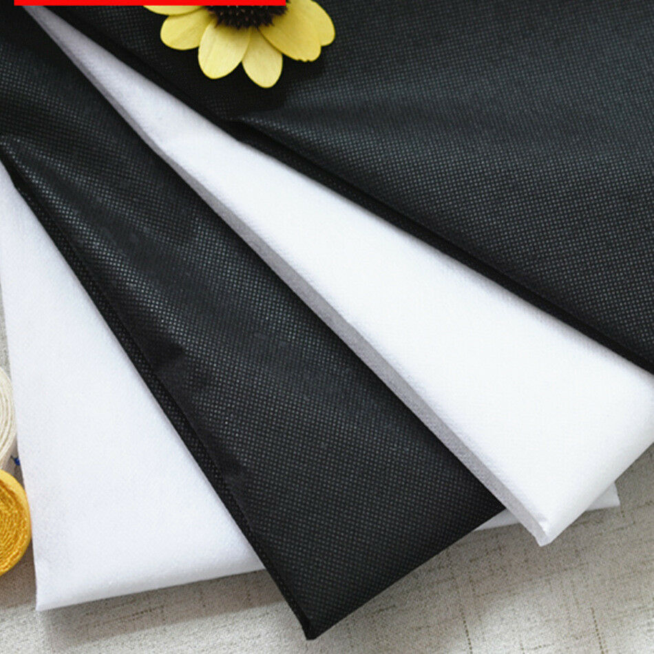 Non-Woven White Sew in Interfacing Medium Weight 2 metres