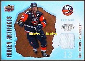 UD-ARTIFACTS-2008-BILL-GUERIN-NHL-NEW-YORK-ISLANDERS-FROZEN-GAME-JERSEY-FAJS