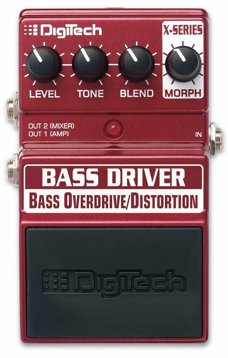 Digitech Bass Driver Overdrive/Distortion Bass Bass Bass Guitar Effects Pedal StompBox F/S 7ba6ba