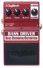 Digitech Bass Driver Overdrive/Distortion Bass Guitar Effects Pedal StompBox F/S