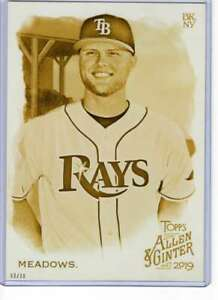 Austin-Meadows-2019-Allen-and-Ginter-5x7-Gold-363-10-Rays