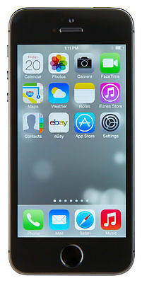 Apple iPhone 5S 16GB Black Unlocked - Mobile Phone Smartphone AS NEW