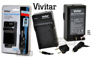 VIVITAR-CHARGER-AC-DC-110-220V-FOR-CANON-POWERSHOOT-G10-G11-G12-SX30-IS-CB-2LZ