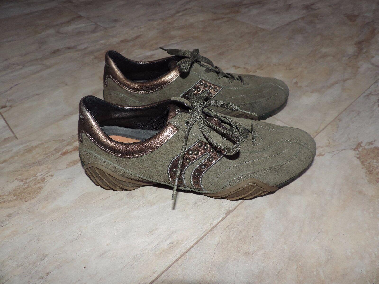 Zapatos señora señora señora zapatos geox cortos, cuero, talla 40, Artículo nuevo  marcas en línea venta barata