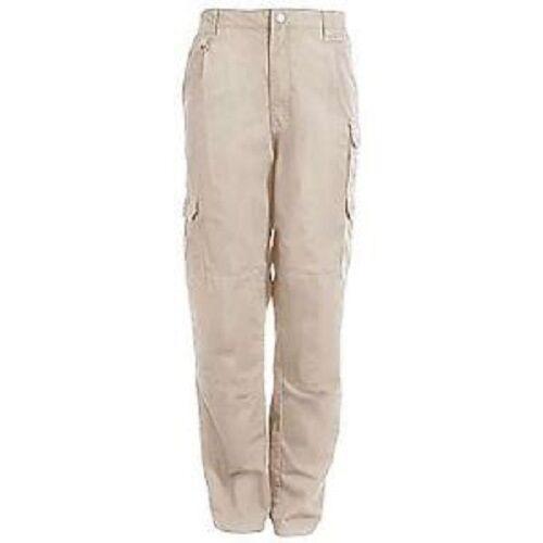 48ac18ec638 5.11 Tactical 74251 Khaki Men Cotton Canvas Pants - Waist 36 Inseam 34 for  sale online   eBay