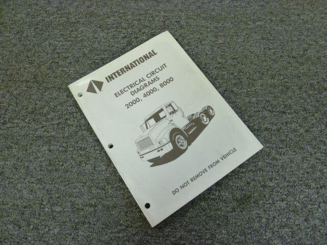 1995 International 4600 4700 4800 4900 Truck Electrical