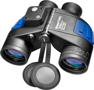 NEW! BARSKA Deep Sea 7x50 Waterproof Floating Binocular w/ Internal Rangefinder