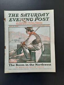 Saturday Evening Post Magazine May 21 1904 Emlen McConnell William Allen White