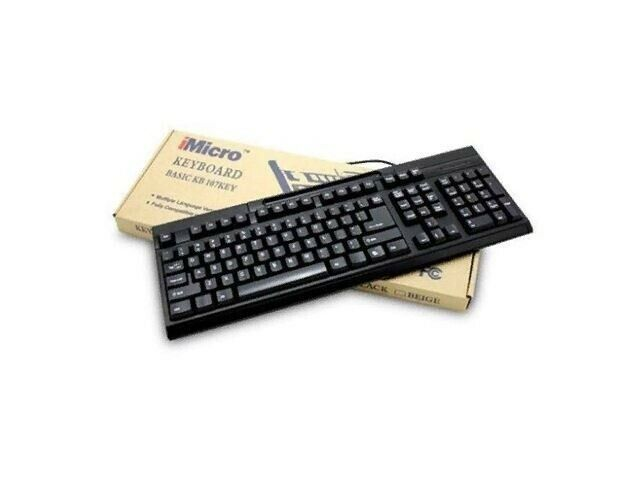 EbidDealz Black USB Wired Numeric Keyboard KB-US819EB