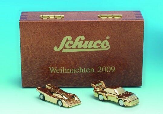 Schuco PIC. PORSCHE 917 + PORSCHE 935 Natale 2009 cassa di legno Age