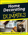 Home Decorating for Dummies by Patricia McMillan, Katharine McMillan (Paperback, 2003)