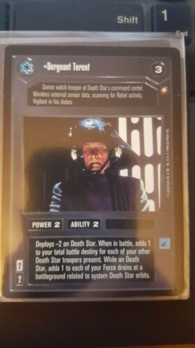 Star Wars CCG Special Edition Sergeant Torent NON-MINT SWCCG