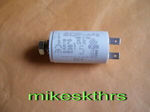 Anlaufkondensator Motorkondensator 5uF 5µF 450V KBS ....ICAR Flachstecker 6,3mm