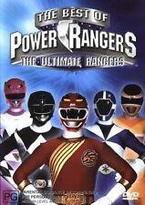 Best Of The Power Rangers - Ultimate Rangers (DVD, 2003) REGION 4 - $2 POSTAGE