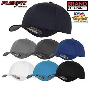 Flexfit-montato-Berretto-Da-Baseball-Yupoong-YP004-6-PANNELLI-Uomo-Donna-Sport