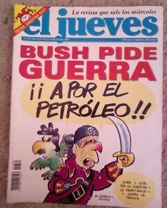 revista el jueves numero 1339 año XXVI del 22 al 28 de enero 2003