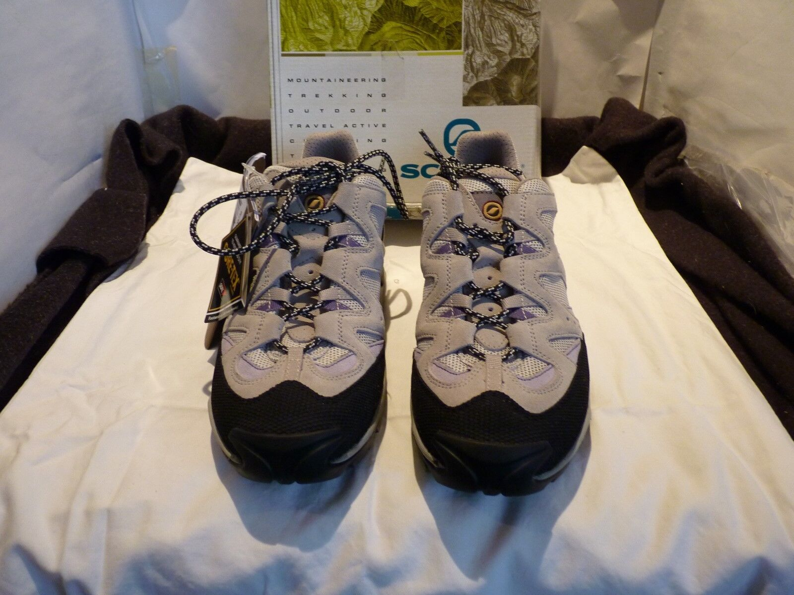 NEW NEW NEW WOMENS SCARPA ARIA XCR SILER/LILAC HIKING SHOES CAMPING WALKING TRAVEL dcdee7
