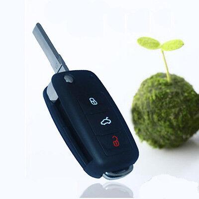 New3 Buttons Folding Car Remote Flip Key Shell Case for VW Golf Passat Polo Bora