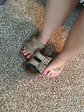 well worn womens sandals