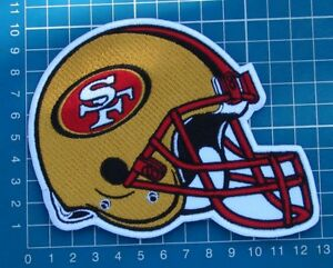 9e86420b Details about SAN FRANCISCO 49ers NFL SUPERBOWL FOOTBALL HELMET 5
