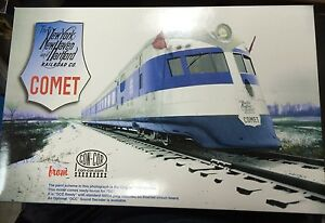 HO NEW HAVEN COMET 3 CAR SET(Only a few in stock hurry if interested) (1-08735)