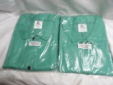 Pair Of Steiner 30 Green Welding Fire Retardant Jackets Size 4x 10306
