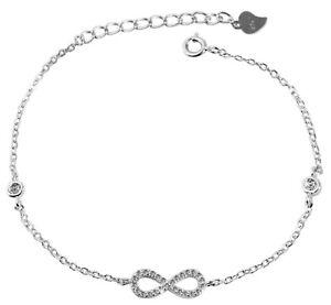 Armband-925-Silber-Unendlich-Unendlichkeit-Endless-Sterlingsilber-Armschmuck-Arm
