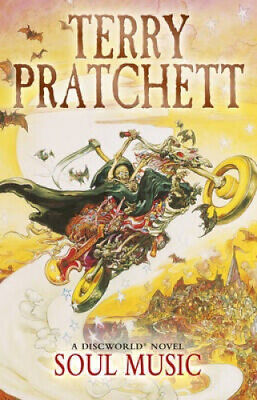 discworld soul music novel books pratchett terry novels series hogfather death kindle heftet import brand arms reading alchetron interesting times