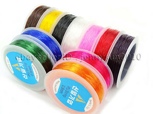 Korean-Strong-Stretchy-Elastic-Wire-Cord-Thread-For-Beading-Bracelet-Necklace