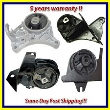 96-00 Chrysler Voyager/ Dodge Caravan 2.4L Engine Motor & Trans. Mount Set 4PCS.