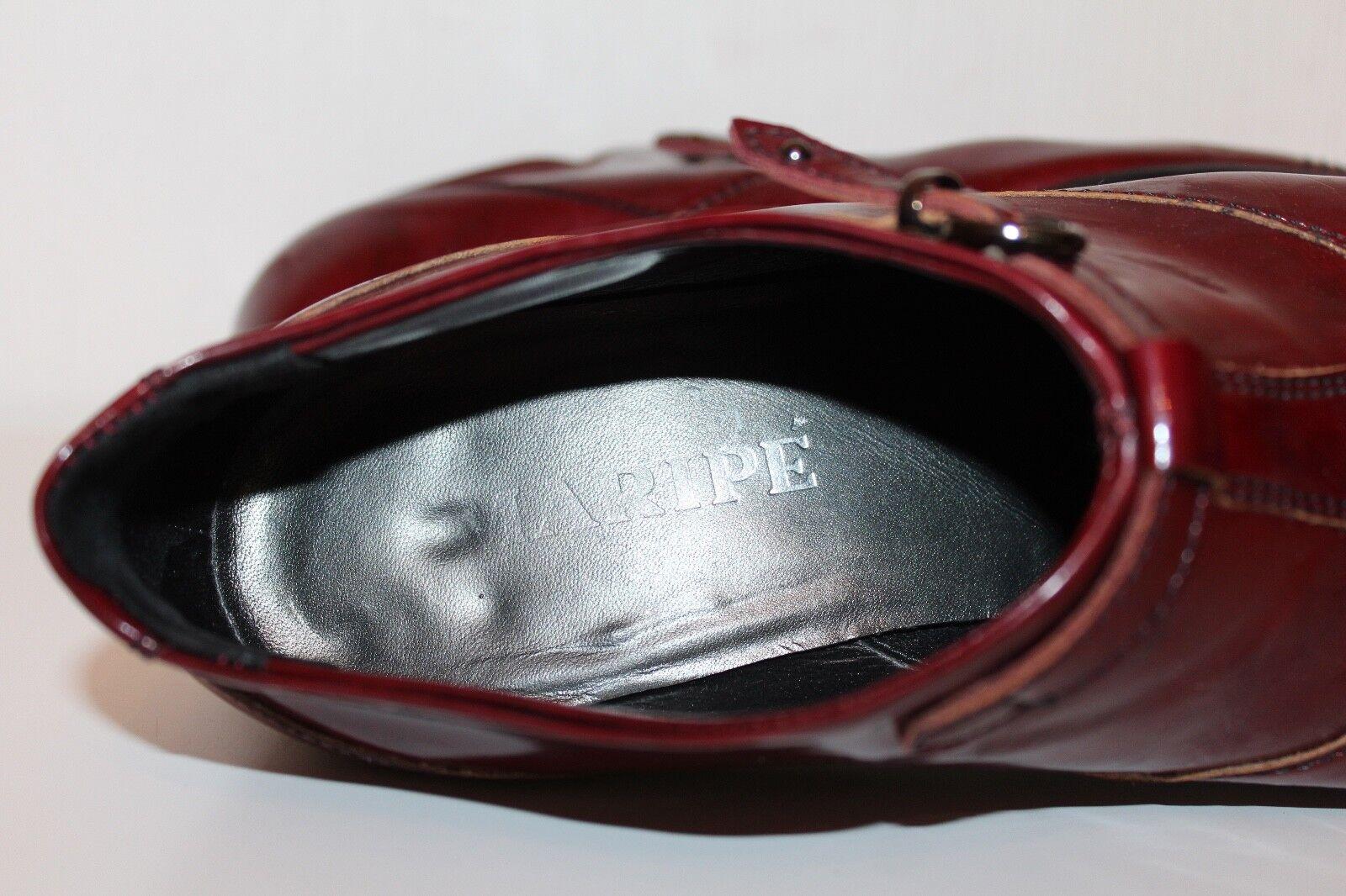 Maripé Maripé Maripé LEDER STIEFELETTEN PISTOL Chelsea Ankle Stiefel STIEFEL BOOTIES 37 ROT ROT 5df62c
