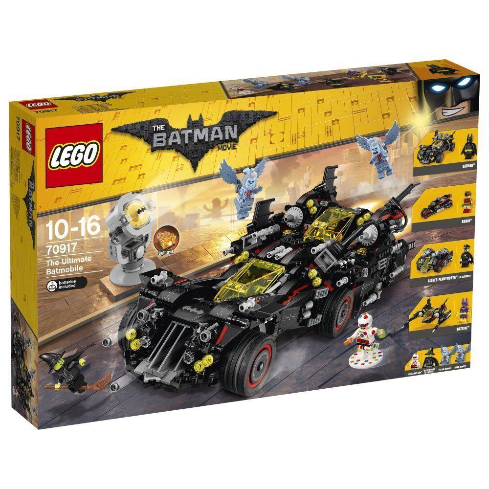 LEGO - 70917 - Batman Movie Ultimate Batmobil costruzioni mattoncini originali